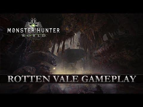 Monster Hunter: World – Rotten Vale Gameplay