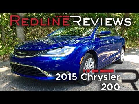2015 Chrysler 200 – Redline: Review