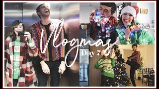 DECORATING MARKS FLAT FOR CHRISTMAS   VLOGMAS