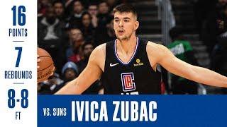 Ivica Zubac Highlights Vs. Suns | 2/13