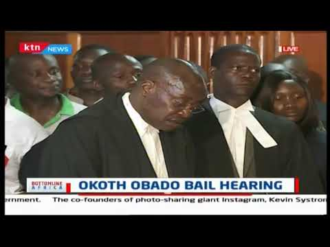 Tough legal battle as over 10 lawyers fail to secure Obado's freedom