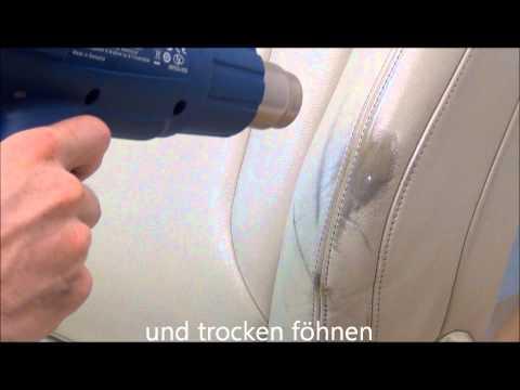Leder Reparatur - Set Profi mit Airbrush-Pistole