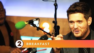 Michael Bublé   All Shook Up (Elvis Presley Cover)   Radio 2 Breakfast Show Session