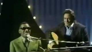 Johnny Cash & Ray Charles - Busted