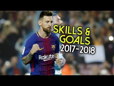 Lionel Messi - Into The Wild ● Crazy Skills & Goals ● 2017-2018 | HD