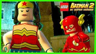 LEGO Batman 2 DC Super Heroes #16 PRIMEIRA VEZ NO MUNDO ABERTO Gameplay Português PC