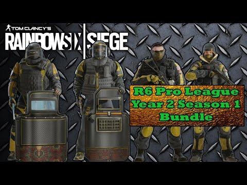Rainbow Six Siege - PRO LEAGUE BUNDLE for Montagne, Pulse, Frost