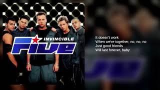 Five: 07. Invincible (Lyrics)