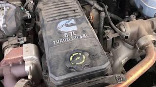 2014 Ram Cummins 6.7 Turbo Speed Sensor Replacement And Some Maintenance