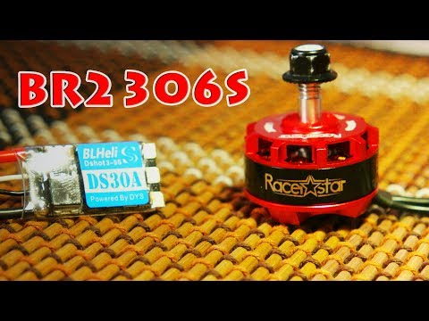 Racerstar RS2306S 2700kv Thrust test