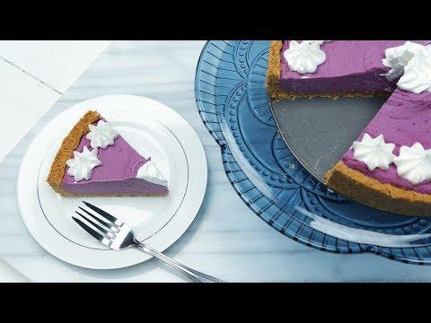 Purple Sweet Potato Pie | Glow