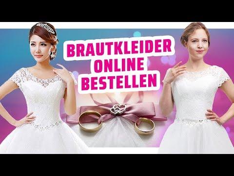 Wie gut sehen günstige Brautkleider WIRKLICH aus? I Werbung VS Realität
