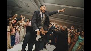DANCE OFF- PUNJABI WEDDING RECEPTION DANCE OFF- TORONTO WEDDING 2020