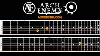 Arch enemy Down to nothing Guitar Lesson