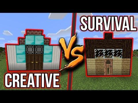 DŮM V SURVIVALU VS DŮM V CREATIVU !!! - #3 w/McCitron + JEHO POHLED