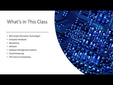 Information Technology Essentials Class -- Free Access - YouTube