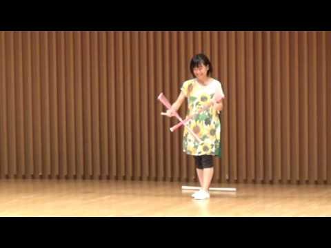JJF2016 Championship devil stick performance Yurie Miyawaki 宮脇友里恵