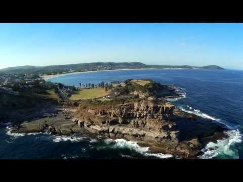 terrigal-beach-fpv-flight-bixler-11-glider-mobius-camera