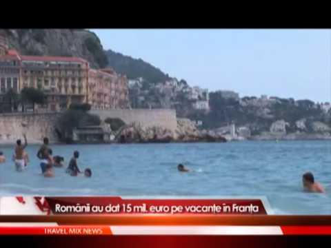 Românii au dat 15 MIL. euro pe vacanțe în Franța