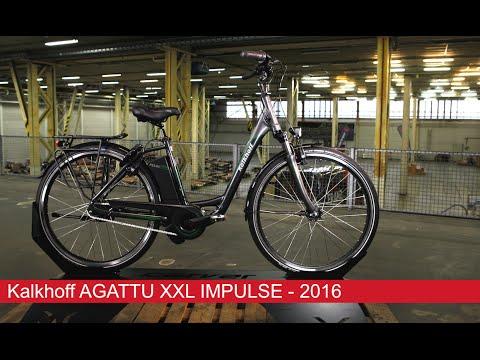 Kalkhoff AGATTU XXL IMPULSE 8R HS 17AH - 2016