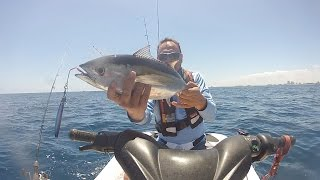 Jet Ski Fishing In Florida /black Fin Tuna.