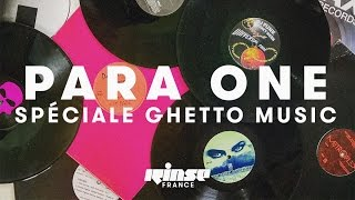 Para One - Live @ Rinse France 2017