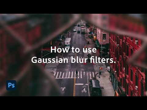 How to Use the Gaussian Blur Effect   Adobe Photoshop