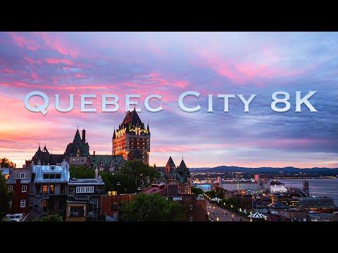 צפו במיטב האתרים של העיר הנפלאה קוויבק באיכות 8K מדהימה!