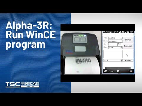 TSC 3R Mobile Barcode Printer