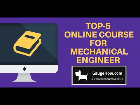 Top-5 Mechanical Engineering courses for (free preview lessons ...