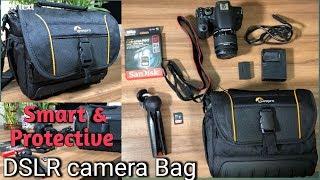 Unboxing & Review LOWEPRO SHOULDER DSLR Camera BAG - ADVENTURA SH 160