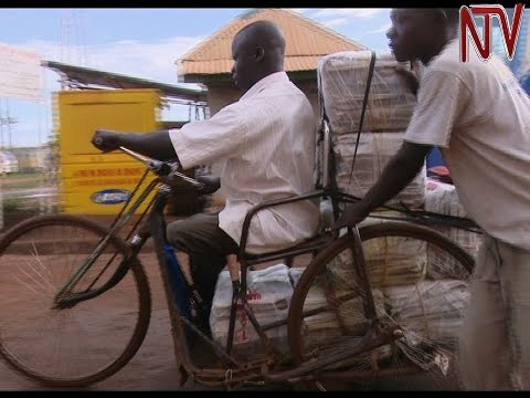Busia's disabled take to ferrying goods across the border to earn an income