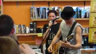 Dresden Dolls - Missed Me - Live @ Sonic Boom Records