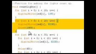 Download Youtube: Arduino Tutorial - Lights Array