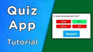 Build A Quiz App With JavaScript