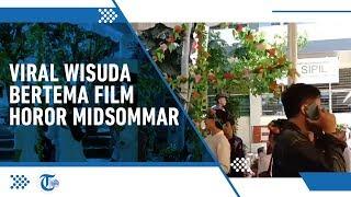 Video Viral di Media Sosial Wisuda Bertema Film Horor Midsommar, Lihat Videonya di Sini!