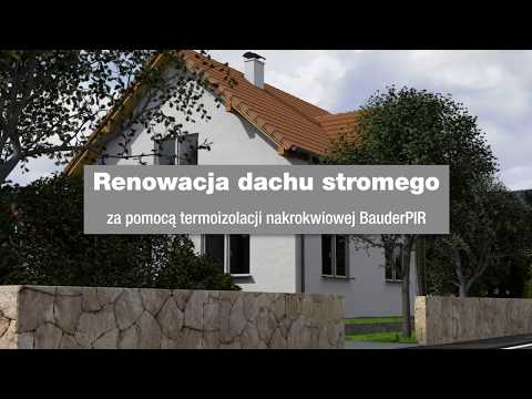 Renowacja dachu stromego Bauder - zdjęcie