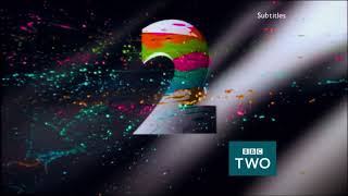 BBC Two: Paint [Saturday Mashup] Ident -- 30th September 2017