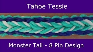 Monster Tail® Tahoe Tessie Bracelet by Rainbow Loom