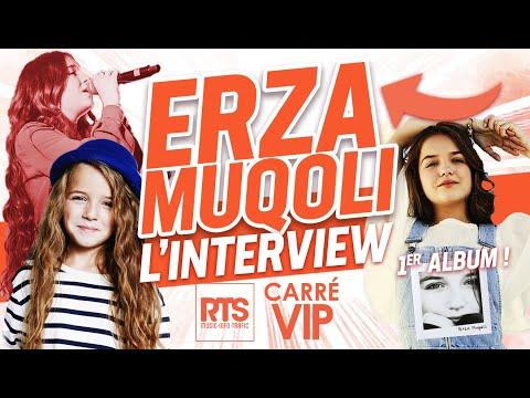 Erza Muqoli L'interview Carré Vip sur RTS