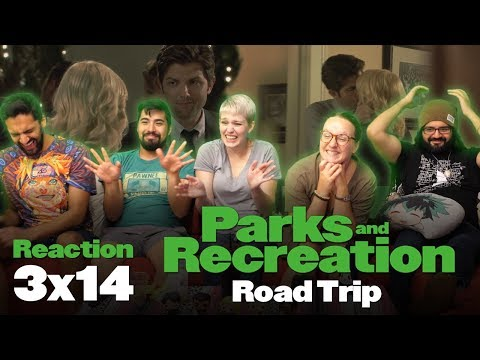 Parks and Recreation - 3x14 Road Trip - Group Reaction