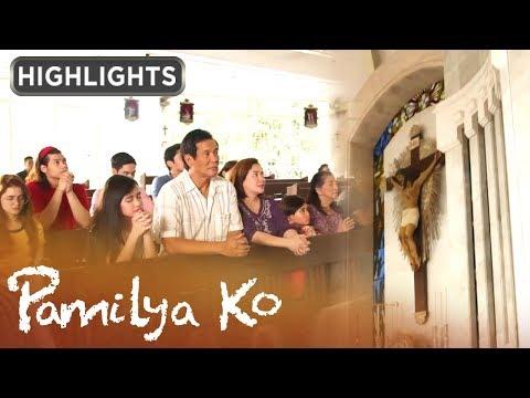 Pamilya Mabunga, sama-sama dumalo ng misa | Pamilya Ko