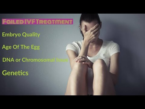 Repeated IVF Failure - Frequent Test-Tube Baby Treatment Failure