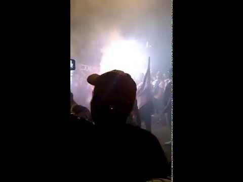 """""""Festa da torcida do Vasco na Barreira para comemorar Titulo Carioca de 2015. (em HD)"""" Barra: Guerreiros do Almirante • Club: Vasco da Gama"""