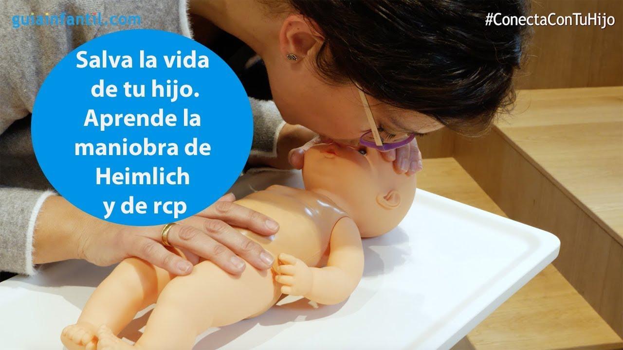Salva la vida de tu hijo. Aprende la maniobra de Heimlich y de RCP | #ConectaConTuHijo