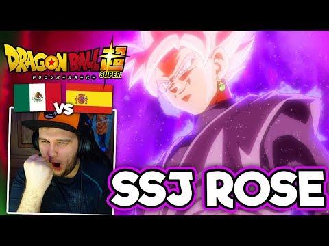 Black Goku se transforma en SSJ Rose - ESPAÑOL REACCIONA A DRAGON BALL SUPER LATINO