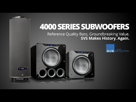 SVS 4000 Series Subwoofer Technology Overview