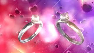 love background | heart background status video | wedding rings background | Wedding love Background