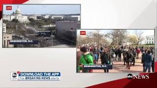 March for Our Lives: Gun control protest in Washington, DC live coverage | ABC News