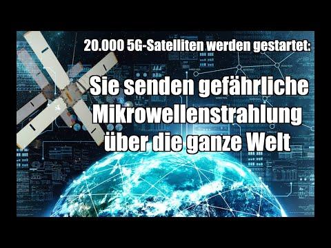 20.000 5G-Satelliten werden gestartet: Sie senden gefährliche Mikrowellenstrahlung